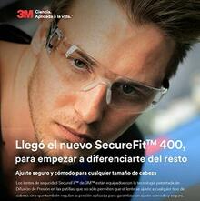 gafas de seguridad securefit 3m
