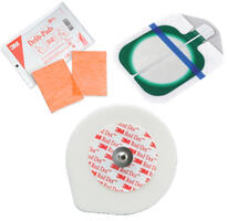 Electrodos, Placa Paciente y Cables para Placa Paciente